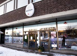 Röda korsets butik Kupan har stängt.