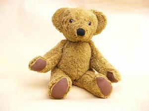 En mjuk och gullig nallebjörn som är miljövänlig finns hos Ekokul.se.