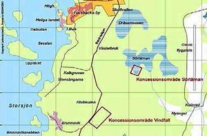 Vindfall nära Forsbacka är ett av de två projekt som Wiking Mineral ska  fokusera på framåt, enligt uppgifter från bolagets vd.