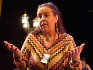 Håller med. Regissören Kjerstin Lundblad backar upp kulturuppropet.