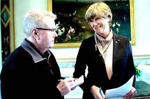 Kompetent. Maria Norrfalk har en bakgrund som gör henne väl skickad att fullgöra jobbet som landshövding i Dalarna.