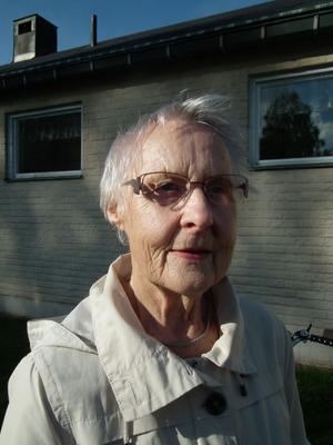 Anna-Greta Berglund, Sollefteå:– Vill använda min röst. Det gjorde jag även vid förra valet. Och så är det så bra cykelväder!