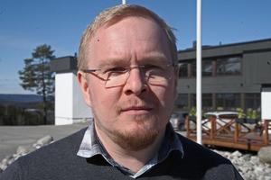 Henrik Salo, överläkare och AT-chef Region Västernorrland.