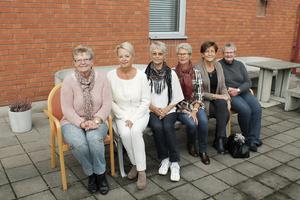 Tärnorna 2013. Så här ser de ut i dag. Från vänster Sif Waldegård Rosling, May-Len Fagerström, Birgit Bergqvist, Marie-Louise Eriksson, Maud Hellgren och Ingegärd Söderman.