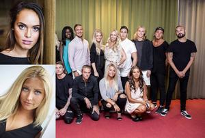 Aina Lesse och Saga Scott kommer till Sundsvall på castingturné. Frida Westman är sidekick.