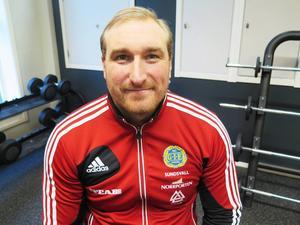 Mikael Bengtsson, coach för GIF Sundsvalls U21-lag.