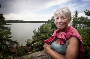 """Christhild Ritter är Mörköbo sedan många år och minns oron som uppstod när arrendehöjning kom på tal. """"Det är först nu som irritationen börjar lägga sig"""", säger hon."""