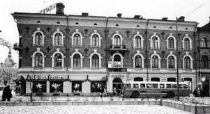 Sigrid Hjertén bodde periodvis hos sin mormor i Rahmska huset på Storgatan/Esplanaden. Fast inte 1971 då den här bilden är tagen, utan 1885-1888.