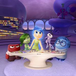 Alla känslor får plats i Pixars film