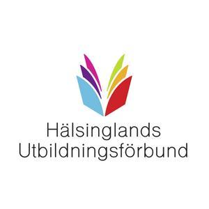 Utbildningsförbundets nya logga är framtagen av Bollnäsbaserade reklambyrån Paper Jam.