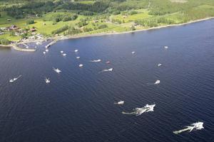 37 båtar deltog i helgens Trollingfiskare mot cancer, men ytterligare några båtlag betalde startavgiften som en gåva till Cancerfonden.