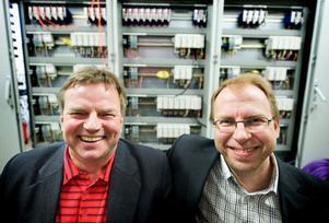 Leif Andersson och Mats Karlsson gläds åt det nya uppdraget som motsvarar 4-5 personers arbete under två år.