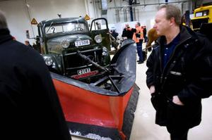 En och annan plogbil från förr finns också att beskåda på mässan Nordicway.