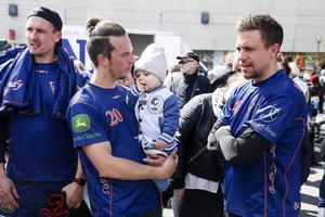 Nyförvärvet Christian Mickelsson språkade med barndomsvännen Per Hellmyrs och Anders Spinnars som blev en god vän under tiden i Chabarovsk.