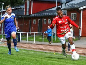 Samantha Brand gjorde ett av målen när Tierp vann mot Rimbo med 3–1.