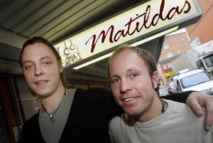 Bröderna Peter och Thomas Vesterinen har tidigare drivit krog tillsammans. Nu öppnar de i en gammal pizzeria.