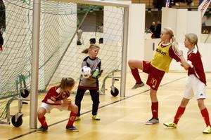 Vera Falk håller tätt i Sandvikens mål.