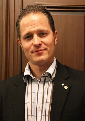 Magnus Svensson (C) kan bli vald på distriktsstämman i Söderhamn den 31 mars.