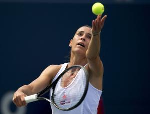 Flavia Penetta skrällvann US Open.