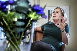 Jämställdhets- och förskoleministern Maria Arnholm (FP) medverkar i ÖPTV:s direktsändning om förskolan.