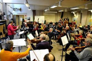 Ulla Britt Johansson och Magnus Marcks i orkestern går också in som gästdirigenter.