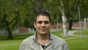 Othman Alsaaed, 34 år, kom Sverige från Syrien.