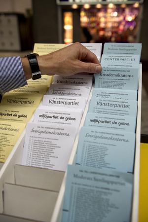 Politiker har högre valdeltagande än allmänheten.
