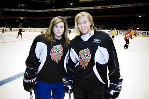 Emma Nordin och Erica Grahm, tillhör nyckelspelarna i VM-truppen.