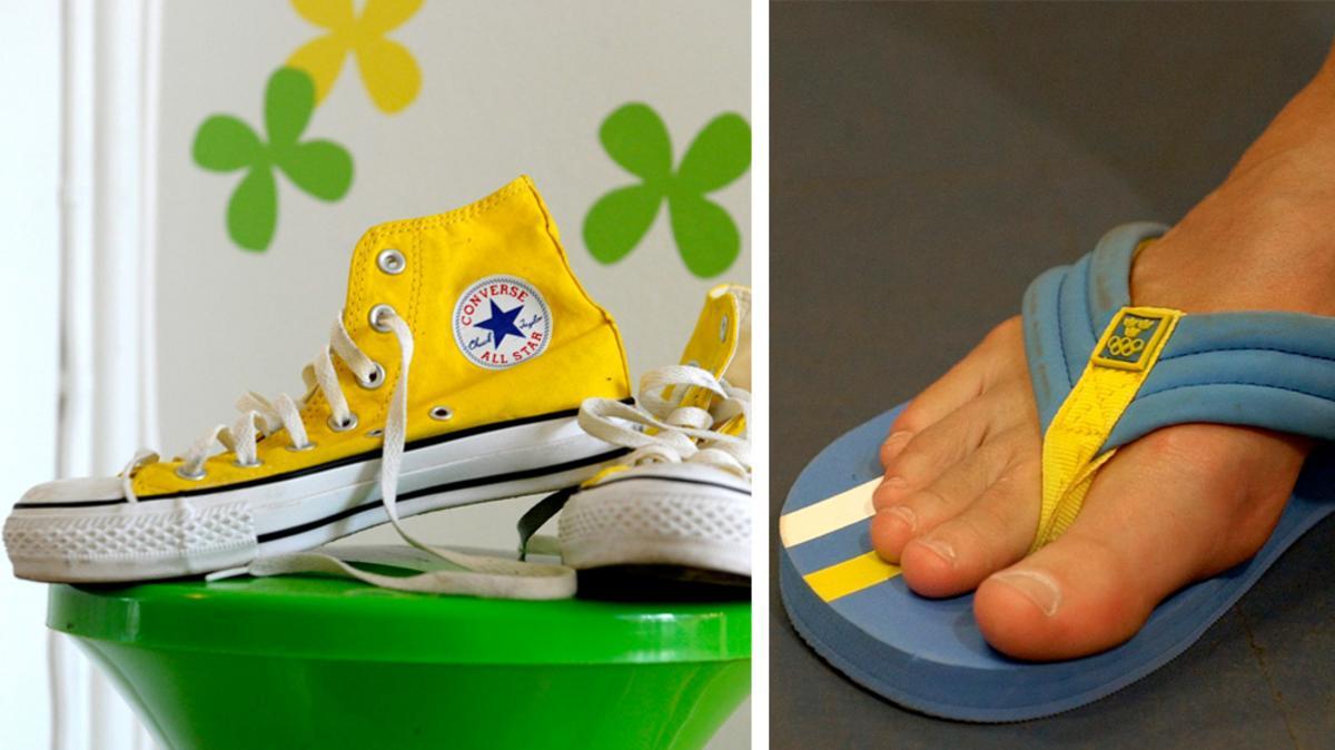 e11f240a5b1 Här är skorna om du vill ha fotproblem