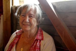 Elsa Lordell, 90, trivdes på dansbanan i Österåsen.