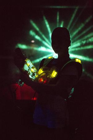 Multi Challenge har årligen 58.000 besökare. Laserhallen är en av de populäraste aktiviteterna.