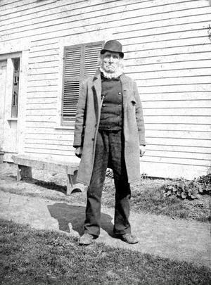 Peter Wickblom från Alfta reste till Amerika 1846. Han är 94 år gammal då inspelningen görs.