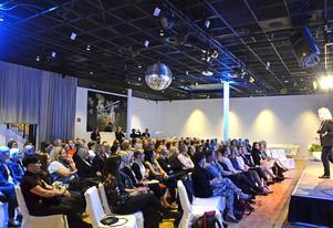Över 130 personer kom till nätverket Q-biz första seminarium på Casino Cosmopol.