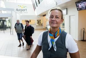 Stationschef Karin Westin, BRA, Sundsvall-Timrå Airport,