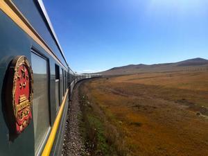 Resan går över den ryska stäppen in i Mongoliet.   Foto: Laura Pl/Shutterstock.com