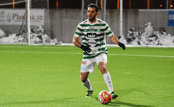 Alex de Carolis, provspelare i VSK Fotboll, senast från division 3-laget Nora.