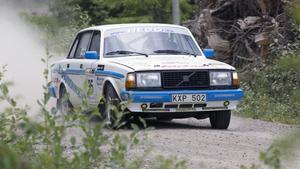 Mikael Wisti slutade på elfte plats i Midnattssolsrallyt.