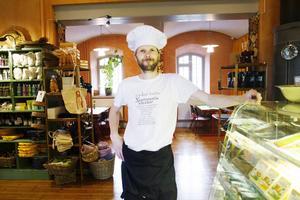 Peter Ågren, från restaurangen Gävligt gott