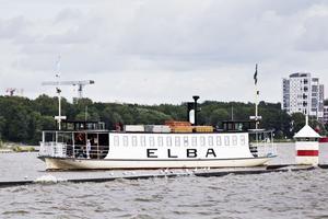 Elbafärjan har funnits i mer än ett sekel i Västerås. Numer är längden på färderna begränsad. Den anrika färjan är k-märkt.