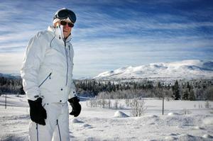En släplift som binder ihop Tegefjäll med Rödkullen skulle lyfta skidområdetenormt, menar Sune Malmström.