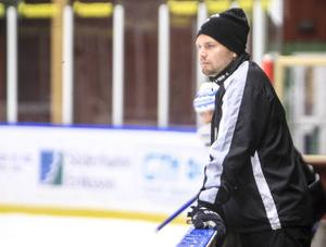 Brobergs tränare Fredrik Rexin.