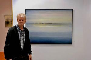 Göte Karlsson visar landskapsmålningar på Lars Bolin Gallery.
