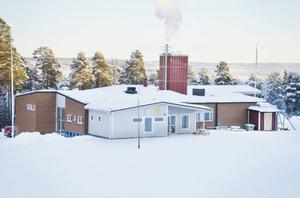 Åsarna skola är en av fyra skolor som hålls stängd under fredagen efter stormen.