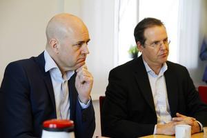 Fredrik Reifeldt och Anders Borg