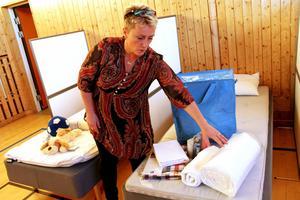 Kommunens evakueringsboende på Fröstuna förlängs, åtminstone till och med januari 2016, berättar Bente Sandström.