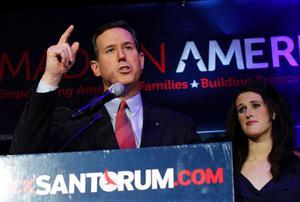 Rick Santorum har fört upp moralfrågorna på den politiska agendan.