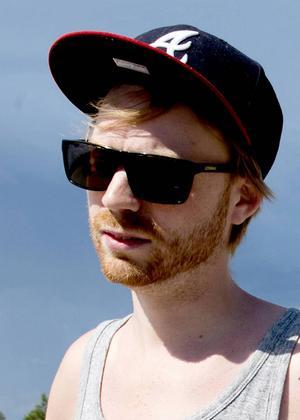 Kristoffer Samuelsson, 30 år, musiker/rappare, Alnö.