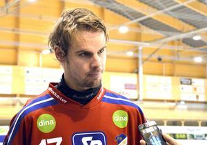 Mattias Hammarström dundrade in ledningsmålet mot VSK.