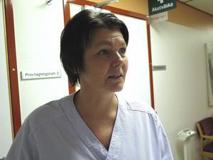 – Vi behöver bli bättre på att ta hand om patienter med sepsis, säger Susanne Högberg, sjuksköterska och projektledare.