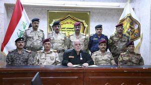 Natten till måndag meddelade Iraks premiärminister Haider al-Abadi att Mosul skulle befrias.